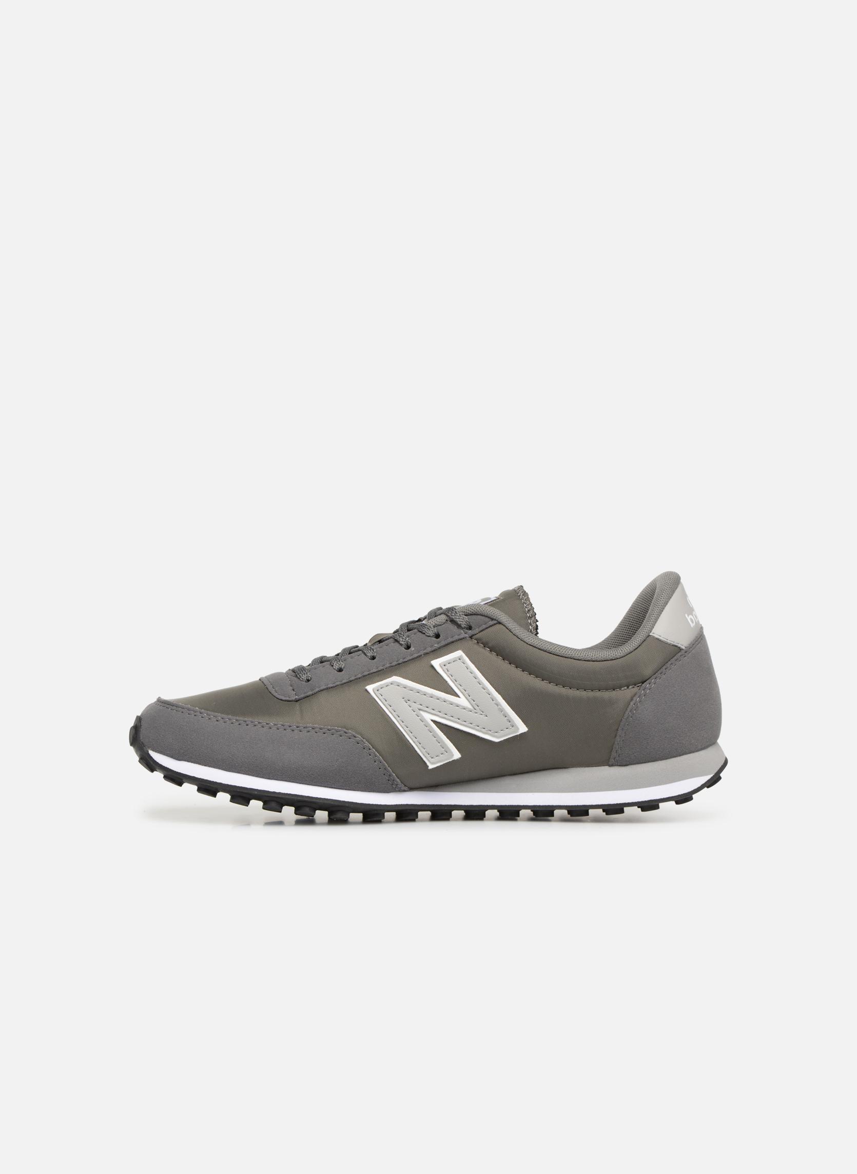 Sneakers New Balance U410 Grijs voorkant