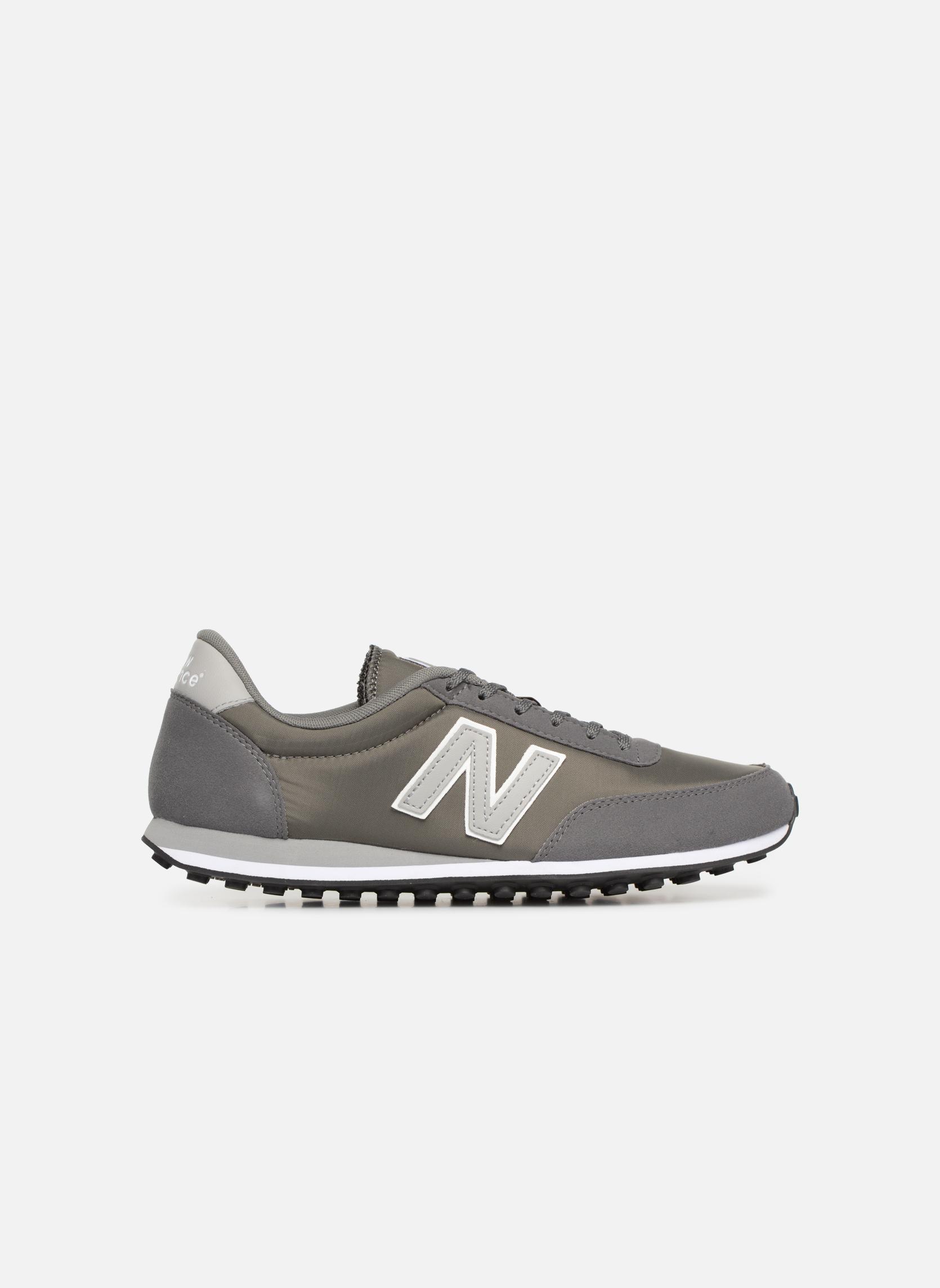 Sneaker New Balance U410 grau ansicht von hinten
