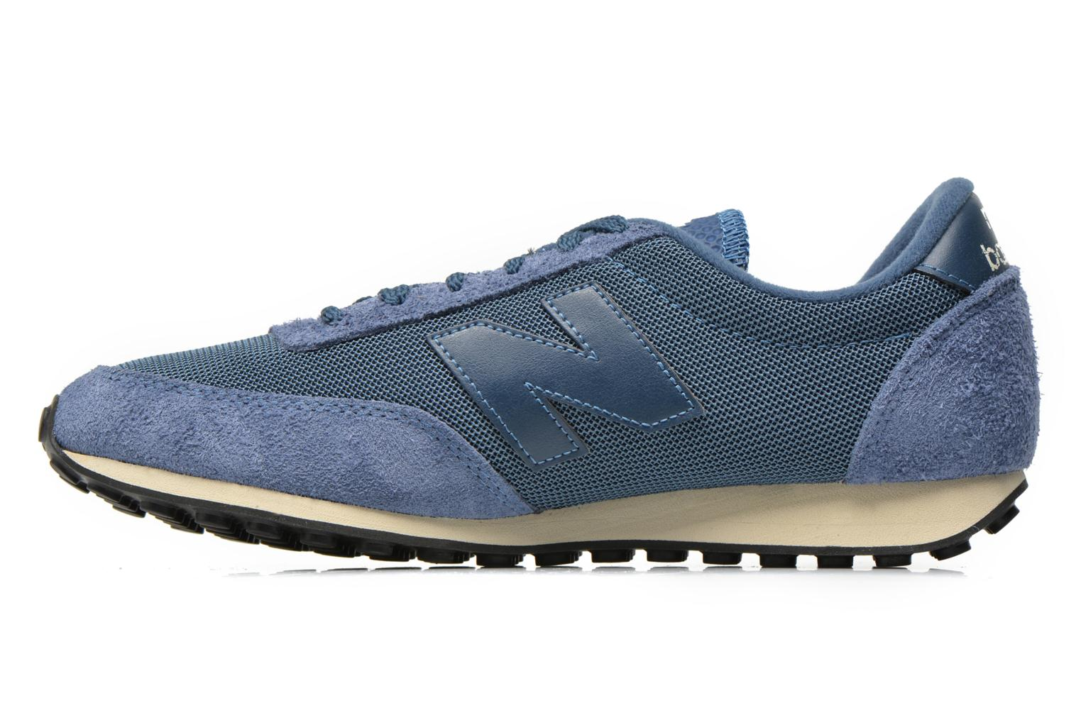 Baskets New Balance U410 Bleu vue face
