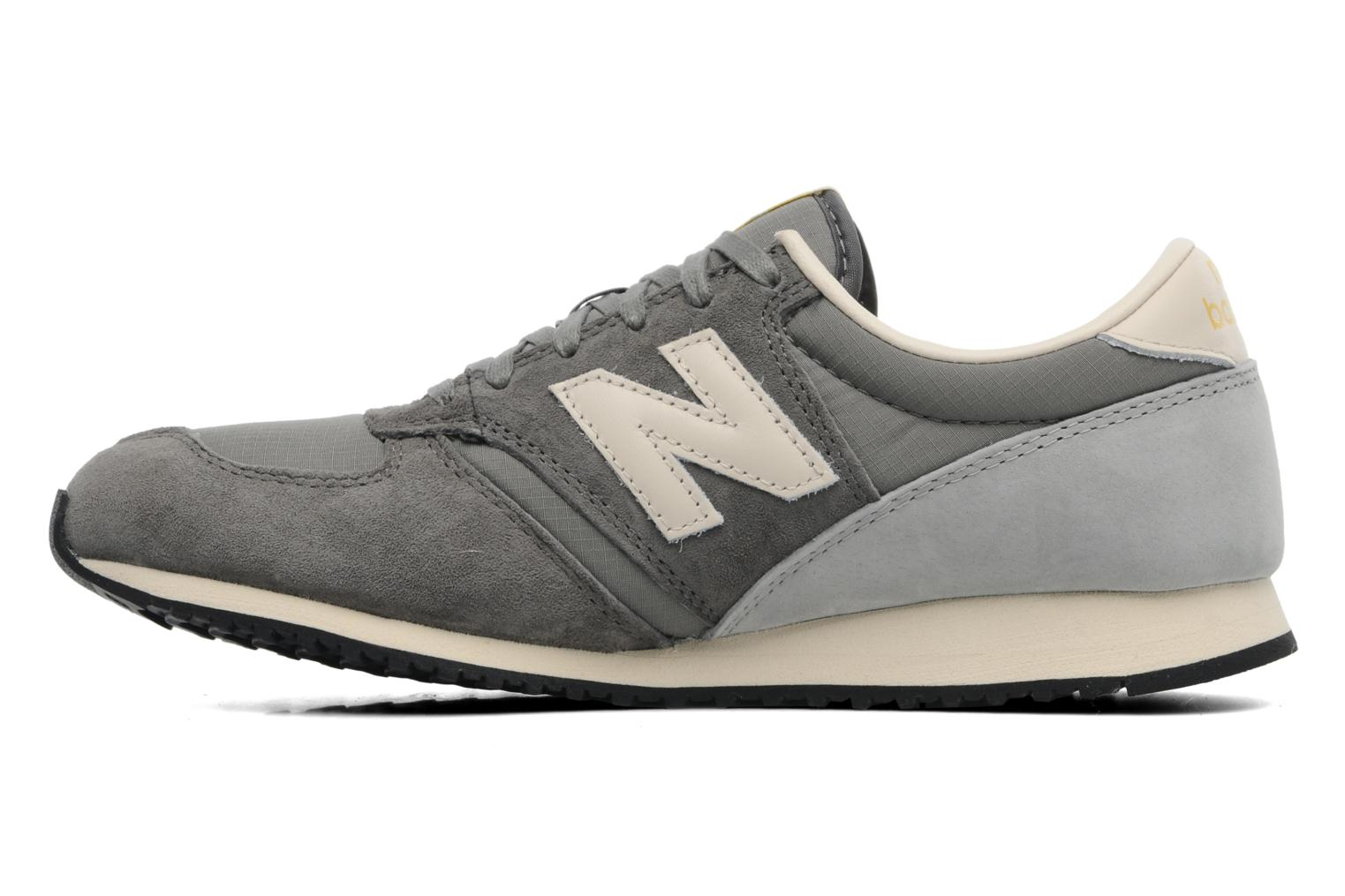 Trainers New Balance U420 Grey front view