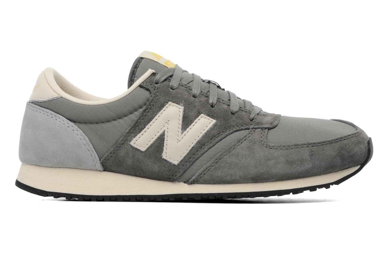 Sneaker New Balance U420 grau ansicht von hinten