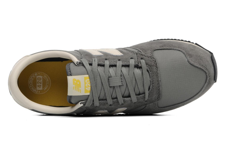 Sneaker New Balance U420 grau ansicht von links