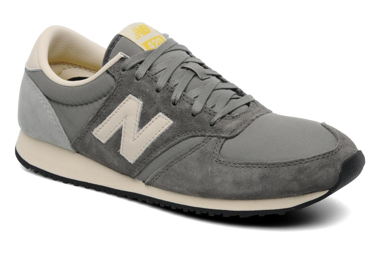 Sneakers New Balance U420 Grå detaljeret billede af skoene