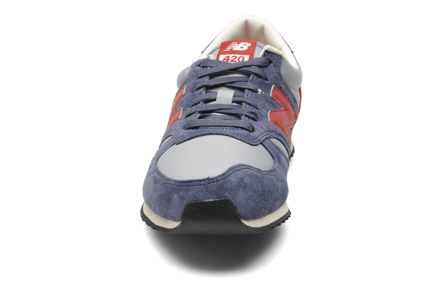 Sneakers New Balance U420 Blauw model