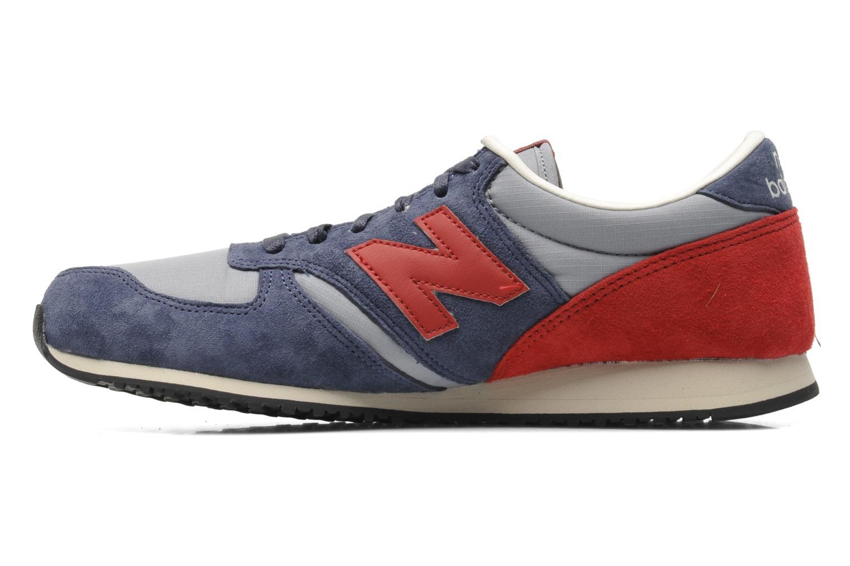 Sneakers New Balance U420 Blauw voorkant