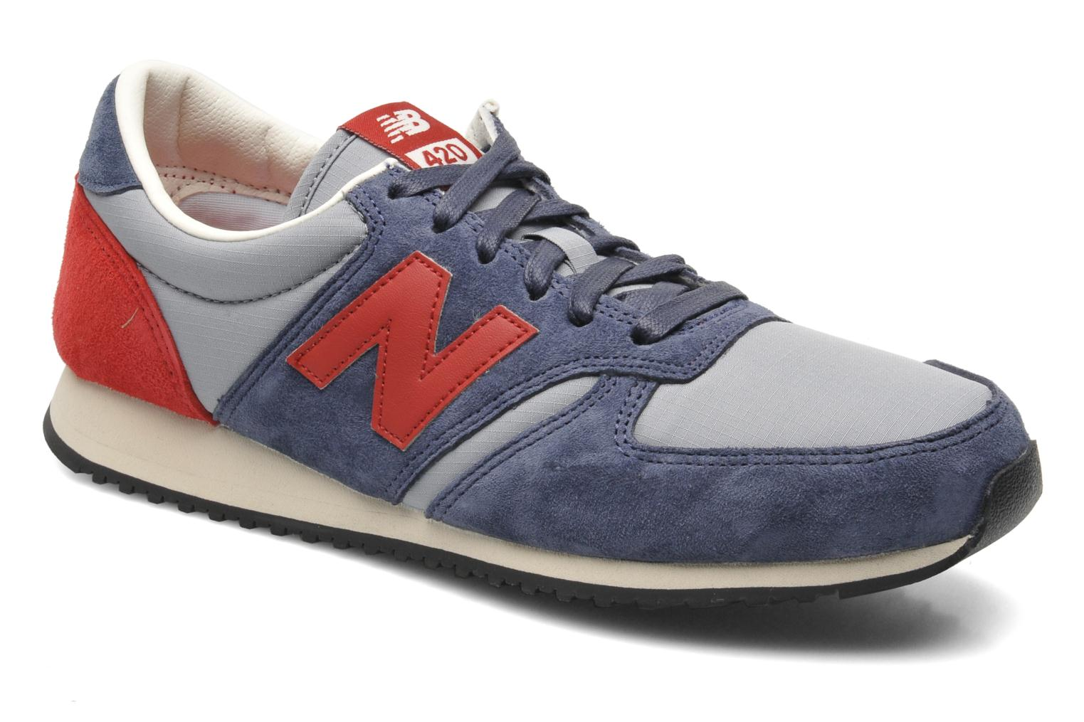 Sneakers New Balance U420 Blauw detail