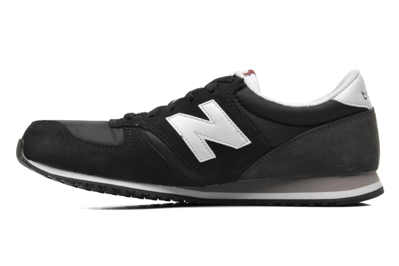 Sneakers New Balance U420 Zwart voorkant