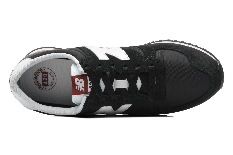 Sneakers New Balance U420 Zwart links