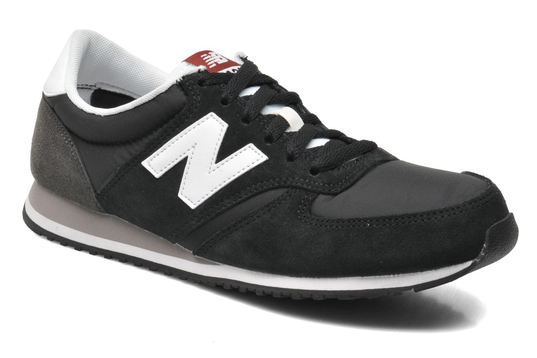 Deportivas New Balance U420 Negro vista de detalle / par