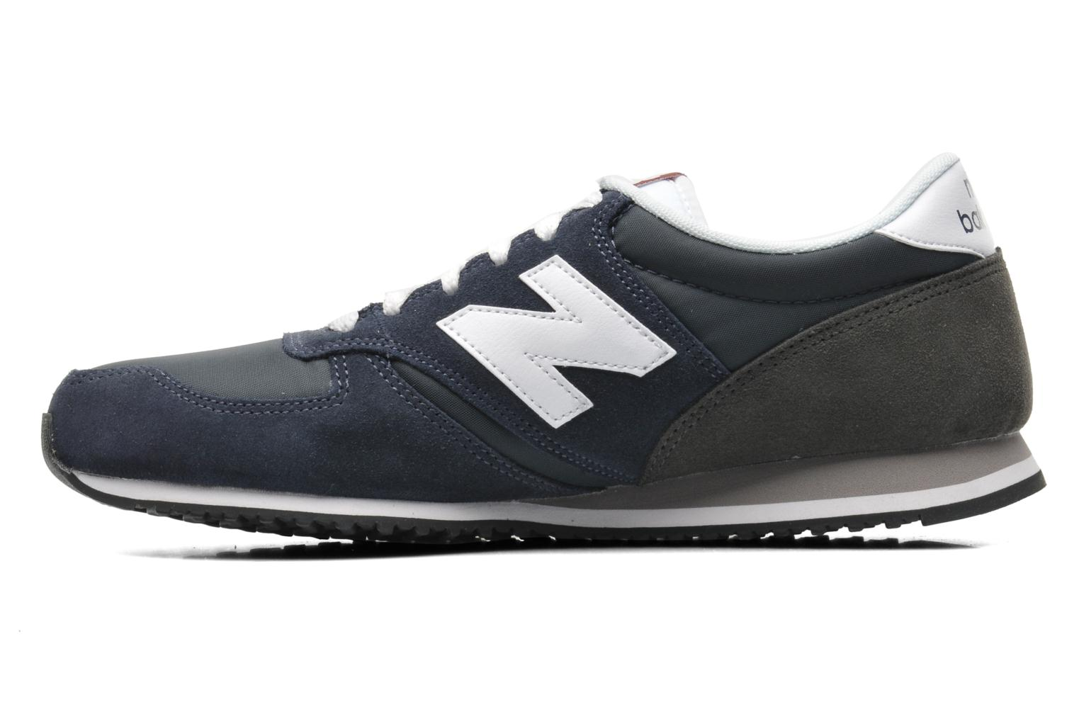 Baskets New Balance U420 Bleu vue face