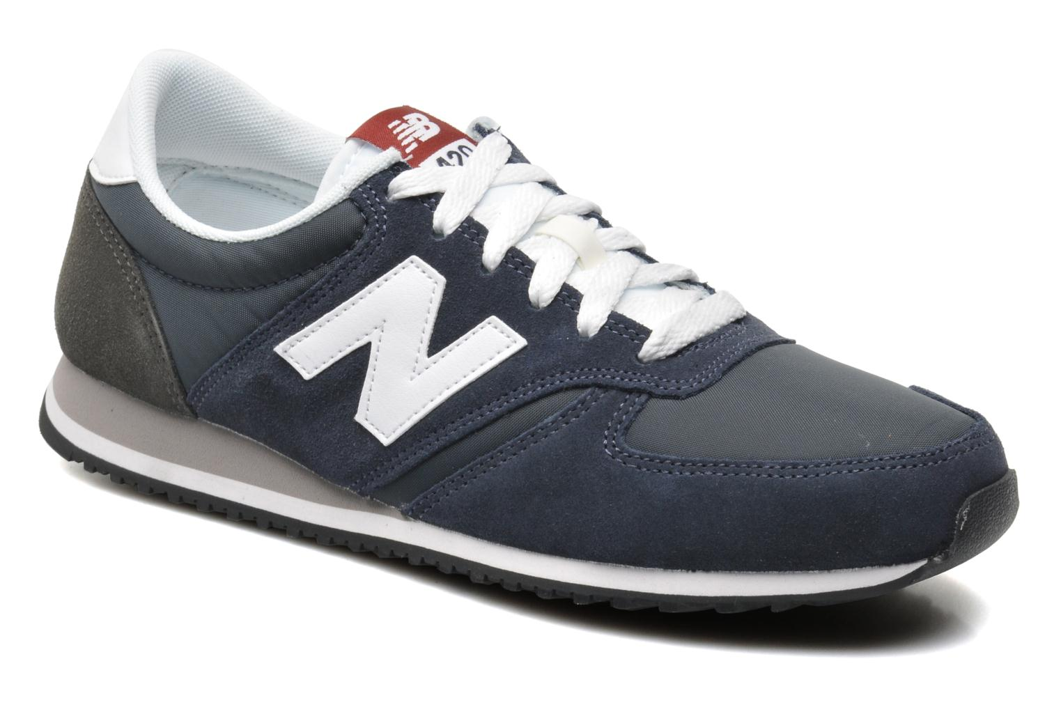 New Balance U420 Bleu Marine Et Orange