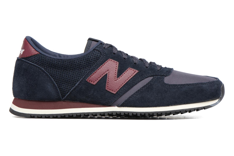 Sneaker New Balance U420 schwarz ansicht von hinten