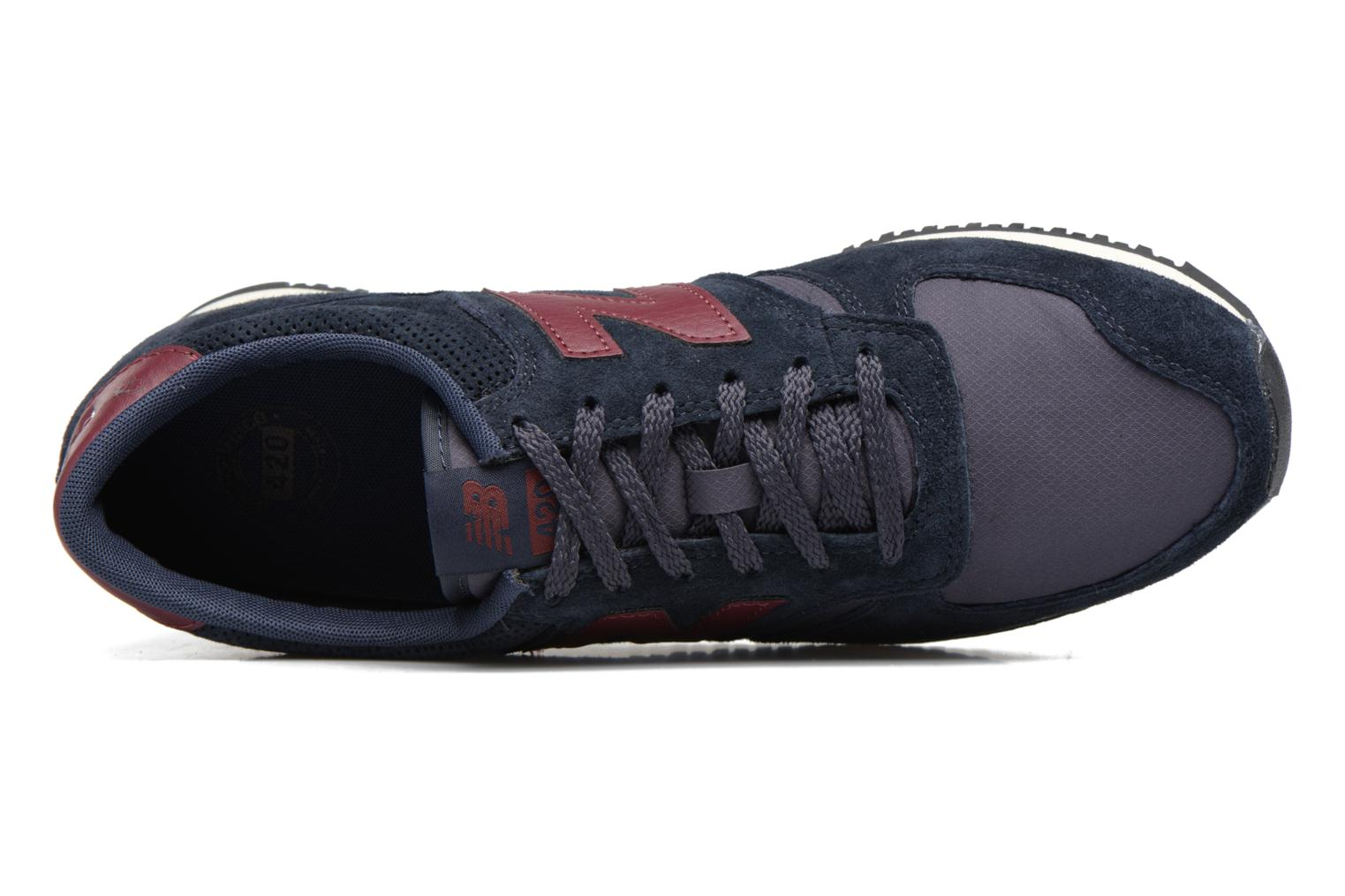 Trainers New Balance U420 Black view from the left