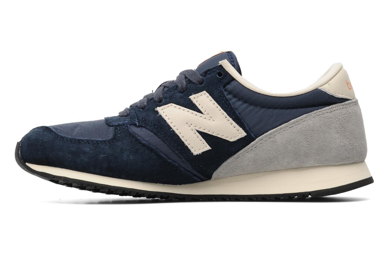 Sneaker New Balance U420 W blau ansicht von vorne