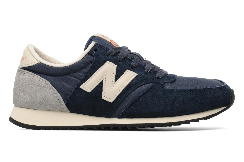Sneaker New Balance U420 W blau ansicht von hinten