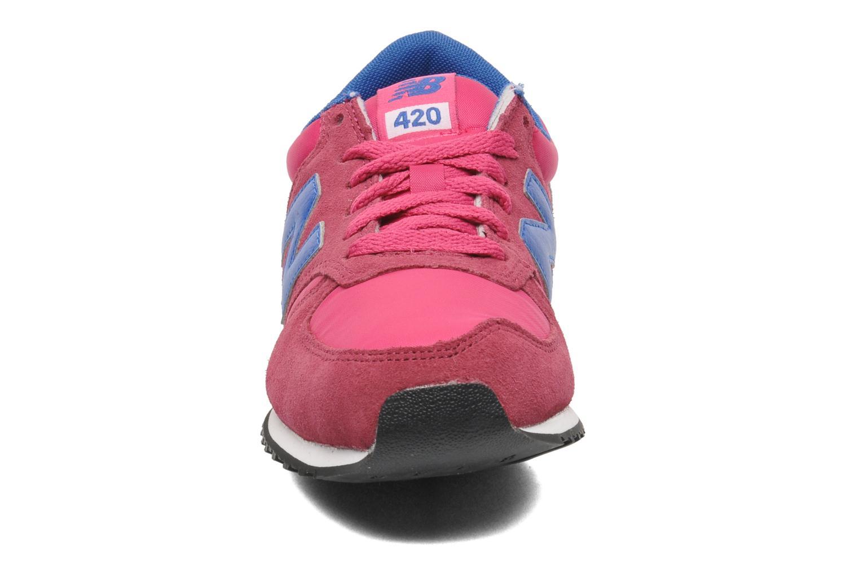 Sneaker New Balance U420 W rosa schuhe getragen
