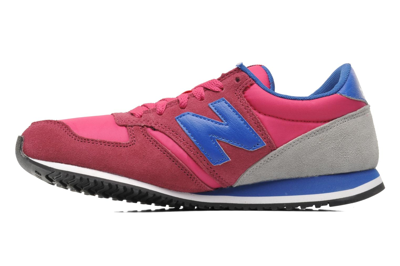 Baskets New Balance U420 W Rose vue face