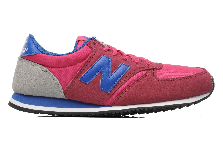 Sneaker New Balance U420 W rosa ansicht von hinten