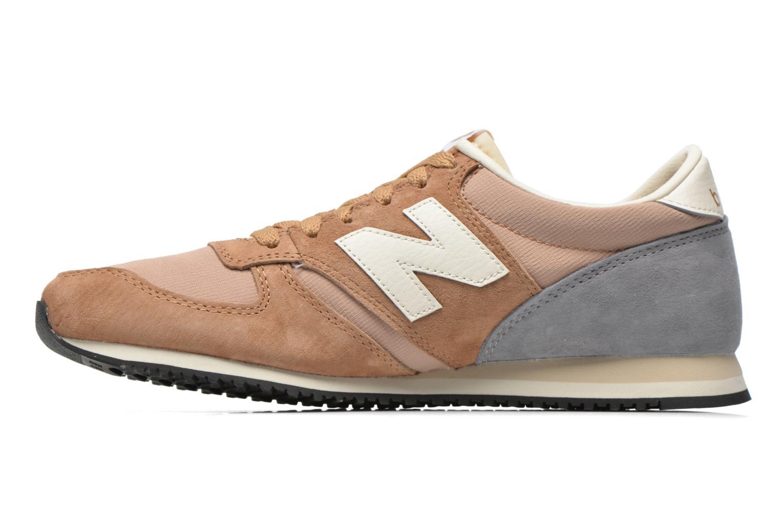 Sneaker New Balance U420 W beige ansicht von vorne