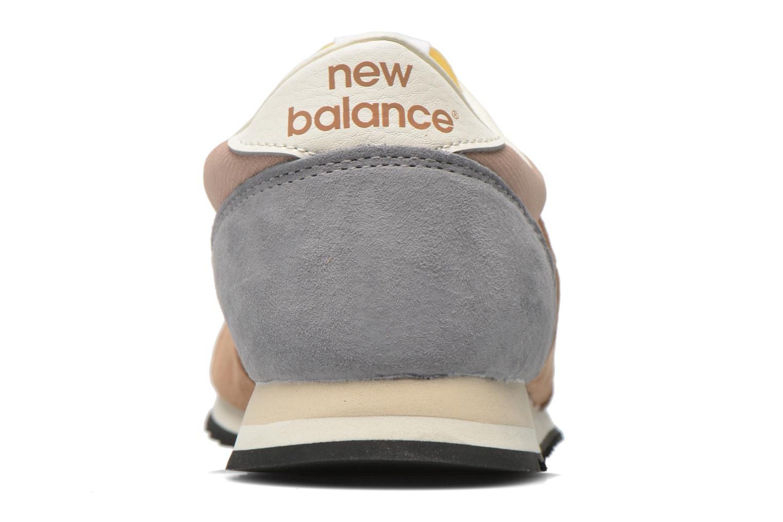 Baskets New Balance U420 W Beige vue droite