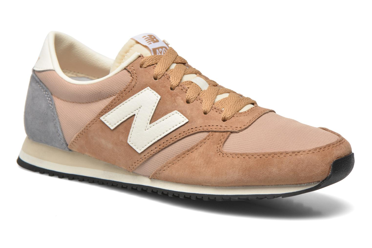 Trainers New Balance U420 W Beige detailed view/ Pair view