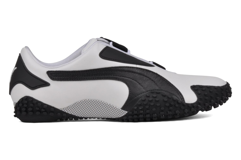 Mostro Leather White black