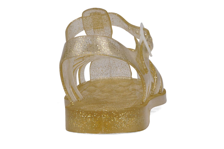 Zapatillas de deporte Méduse Sun W Oro y bronce vista lateral derecha