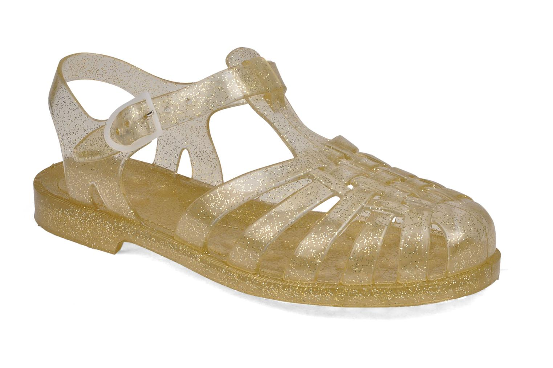 Zapatillas de deporte Méduse Sun W Oro y bronce vista de detalle / par