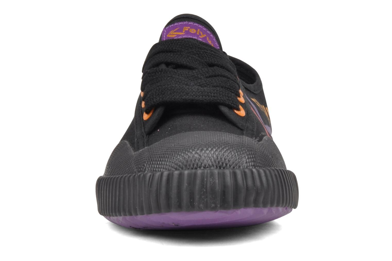 Sneaker Feiyue Fe Lo Male Canvas schwarz schuhe getragen