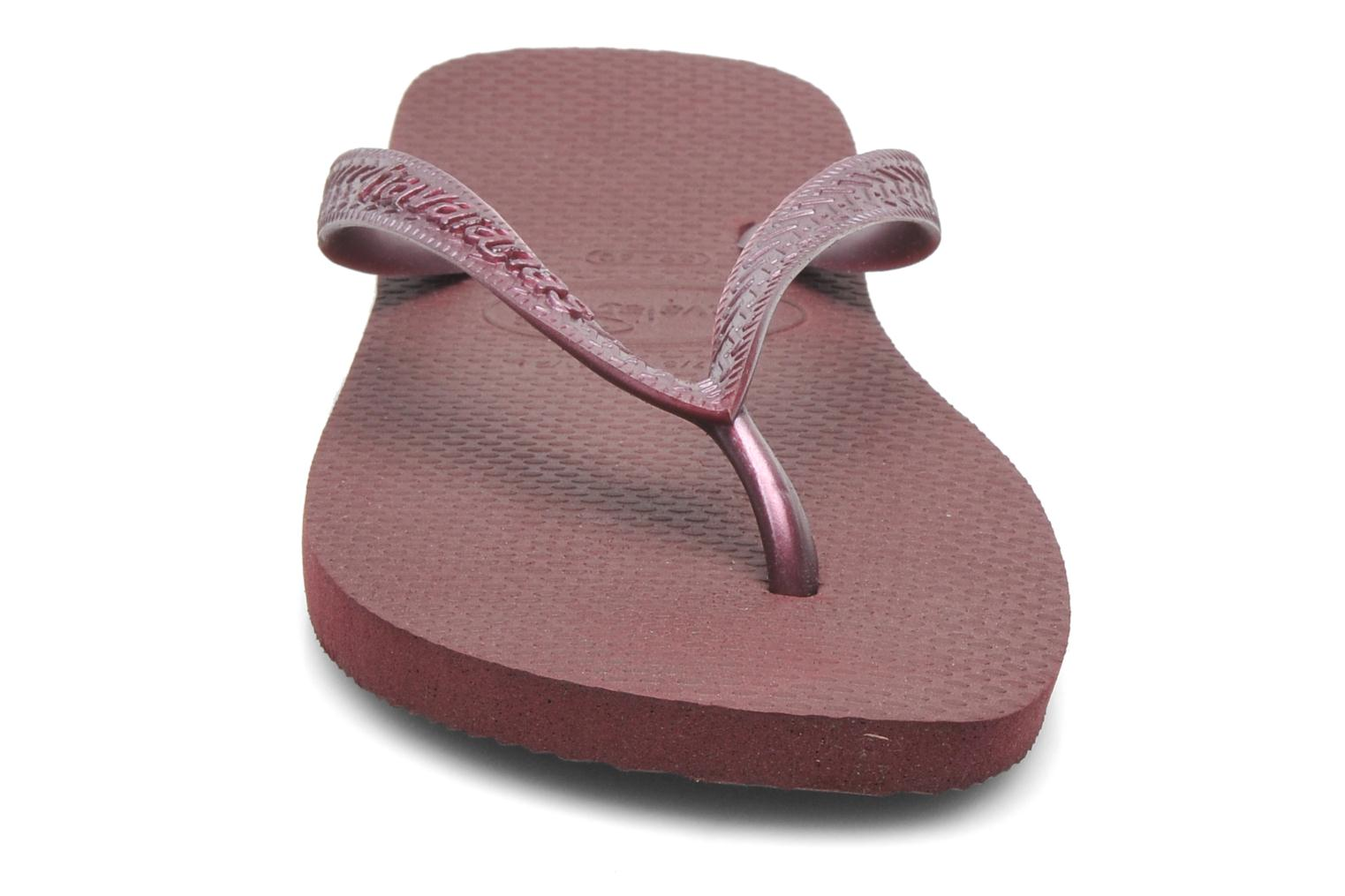 Slippers Havaianas Top Metallic F Paars model