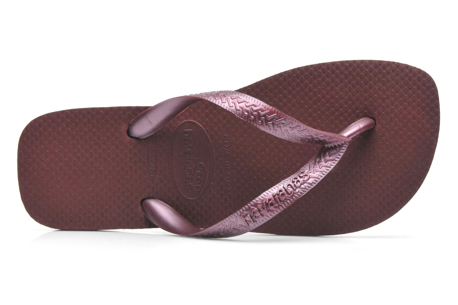 Slippers Havaianas Top Metallic F Paars links
