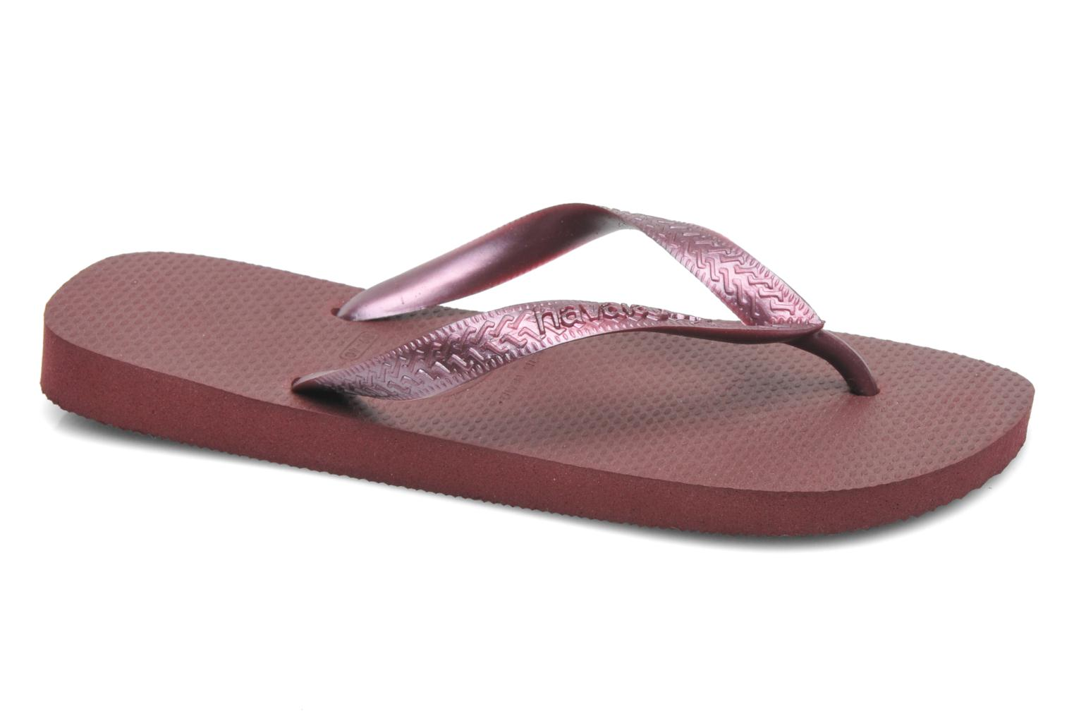 Slippers Havaianas Top Metallic F Paars detail