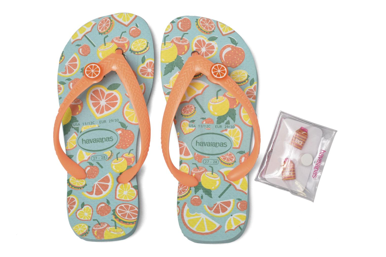 Slippers Havaianas Kids Fun Blauw 3/4'