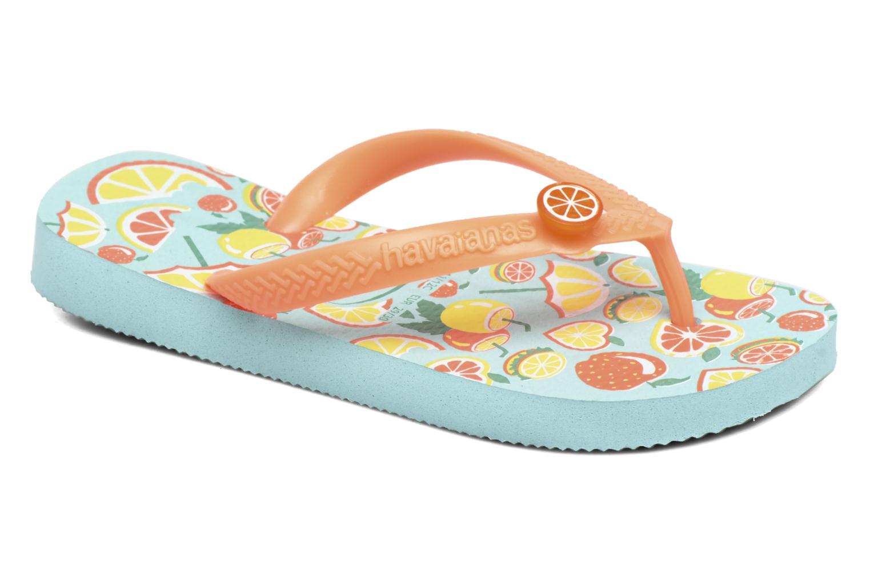 Slippers Havaianas Kids Fun Blauw detail