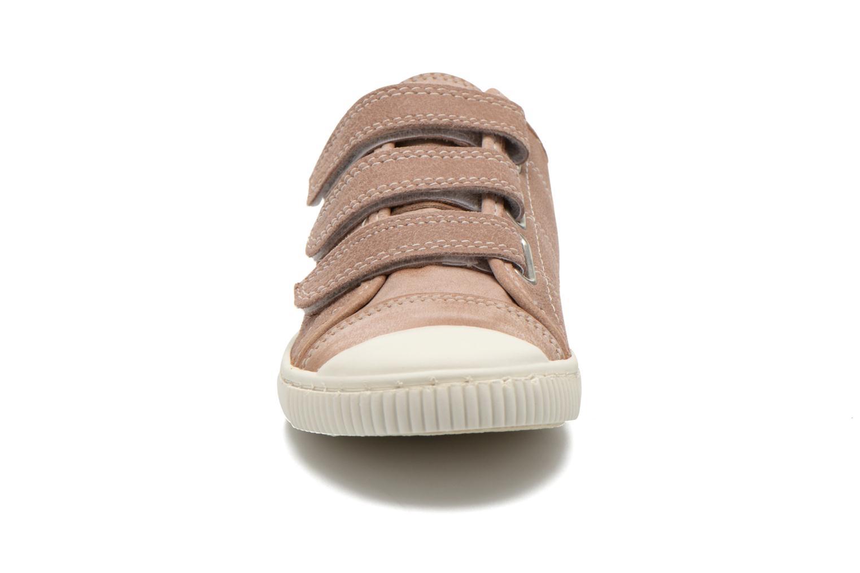 Baskets Pataugas Bistrot Beige vue portées chaussures