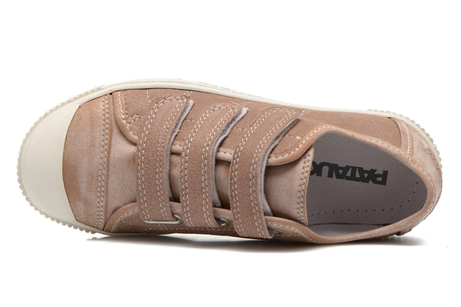 Sneakers Pataugas Bistrot Beige immagine sinistra