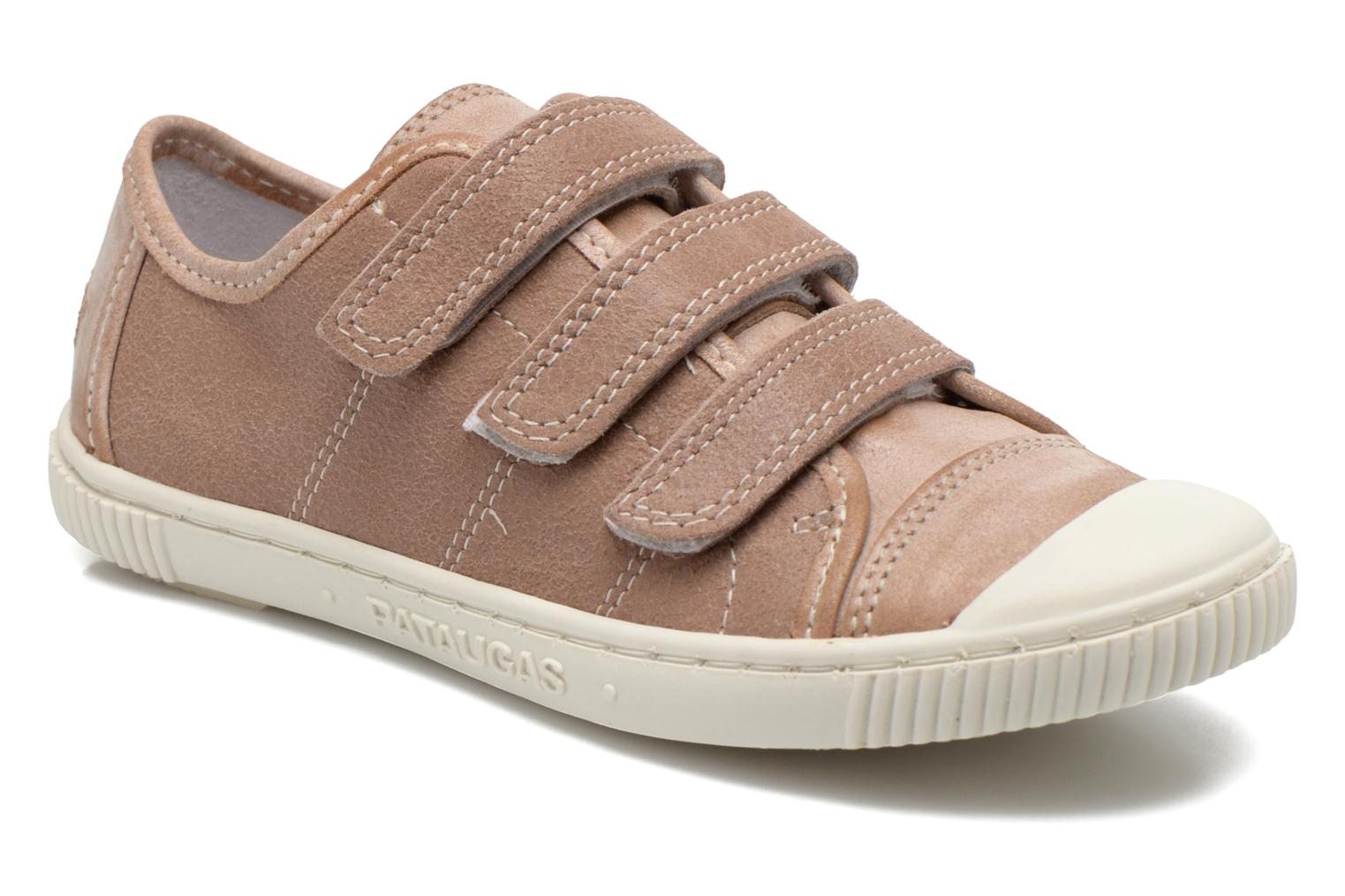Trainers Pataugas Bistrot Beige detailed view/ Pair view