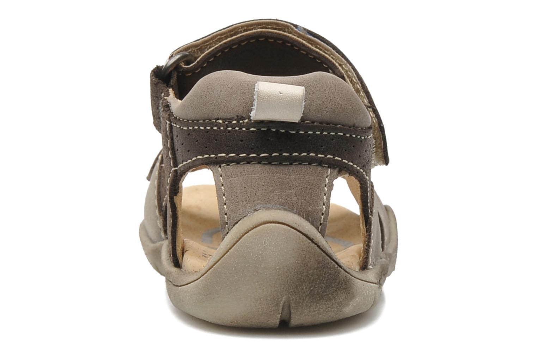 Sandales et nu-pieds Babybotte Toto Marron vue droite
