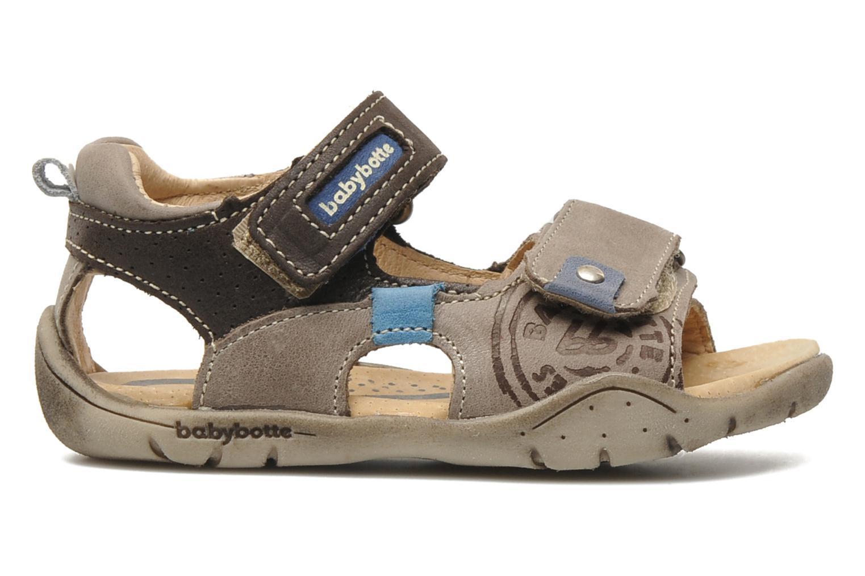 Sandales et nu-pieds Babybotte Toto Marron vue derrière