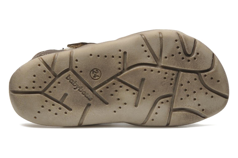 Sandales et nu-pieds Babybotte Toto Marron vue haut