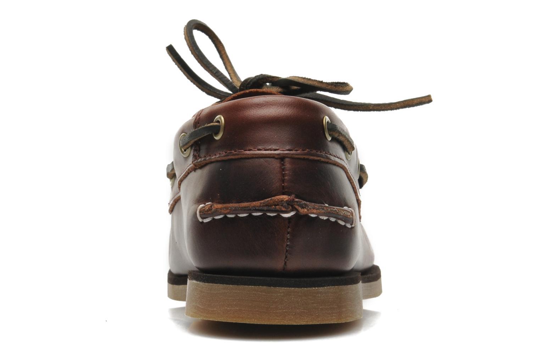 Chaussures à lacets Timberland Boat Shoe Peaks Island E Marron vue droite
