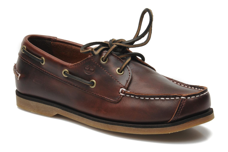 Chaussures à lacets Timberland Boat Shoe Peaks Island E Marron vue détail/paire