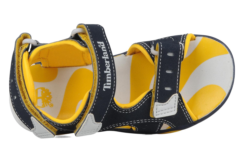 Sportschoenen Timberland Sandal Riverquest 3 Strap Blauw links