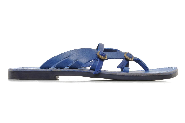 Sandalen Kickers Dilight blau ansicht von hinten