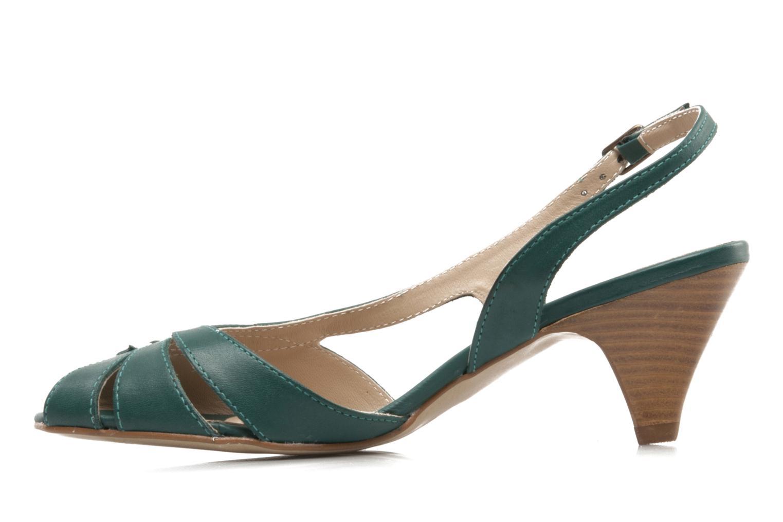 Sandali e scarpe aperte Pastelle Bleuet Verde immagine frontale