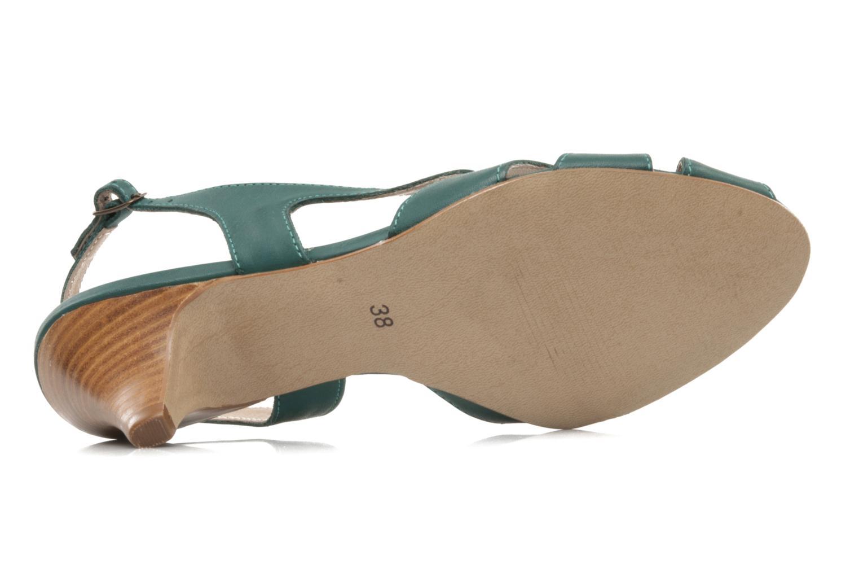 Sandali e scarpe aperte Pastelle Bleuet Verde immagine dall'alto