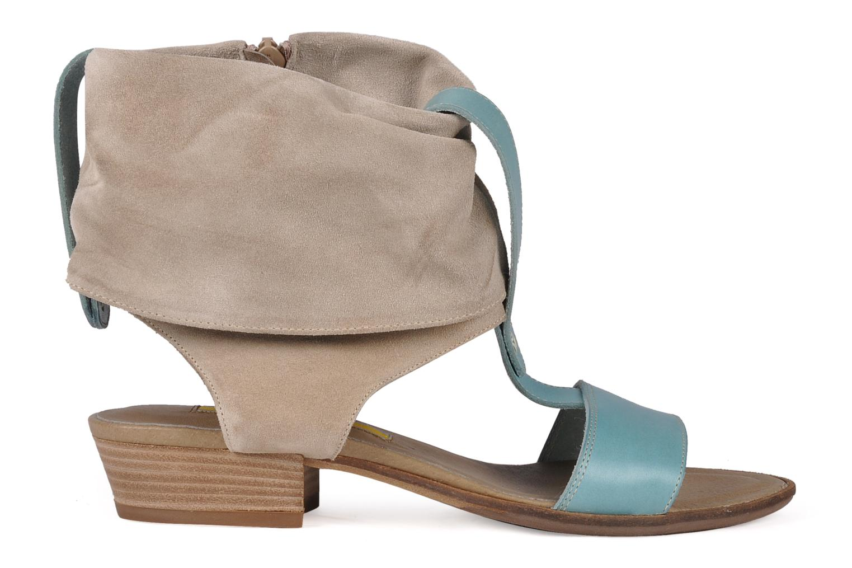 Sandales et nu-pieds Manas Lavori Gris vue derrière