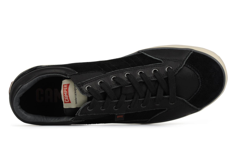 Chaussures à lacets Camper Pelotas Persil Vulcanizado 18469 Noir vue gauche
