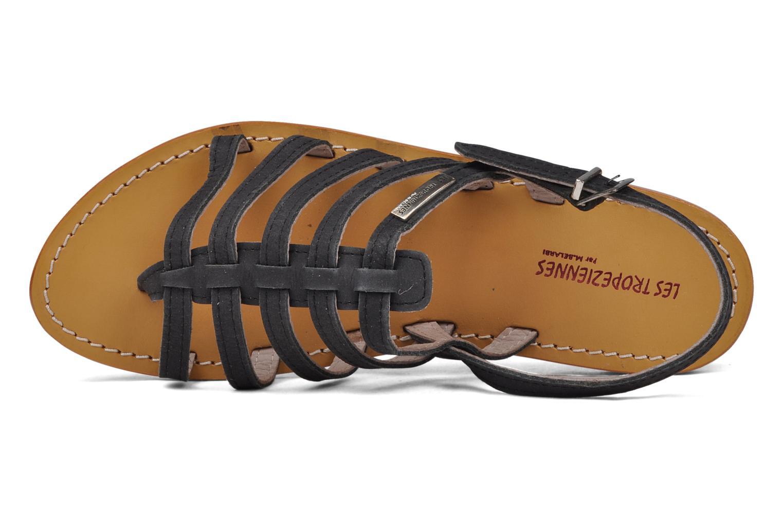 Sandales et nu-pieds Les Tropéziennes par M Belarbi Hook Noir vue gauche