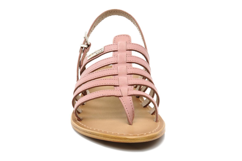 Sandales et nu-pieds Les Tropéziennes par M Belarbi Hook Rose vue portées chaussures